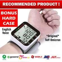 OMRON Tensimeter Digital / Alat Ukur Tensi Tekanan Darah Bukan Brand Omron - Omicron