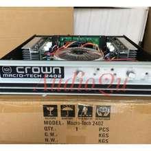Crown Power Ampifier Macro Tech 2402/ Macrotech 2402