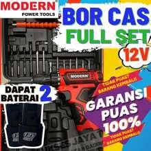 Modern Bor Cas Murah Set Bor Baterai Koper Mesin Bor Cordless Drill Baterai Cordles 12V M13