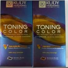 Rudy Hadisuwarno Toning color pewarna rambut uban