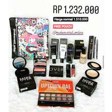 MAKE OVER Paket Seserahan Makeover Isi 12Pc Free Pouch