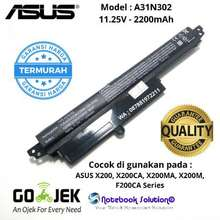 ASUS Baterai X200, X200Ca, X200M, X200Ma, F200Ca, A31N1302
