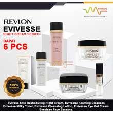 Revlon Paket Evivesse Night Cream Series Isi 6 Items / Paket Krim Malam