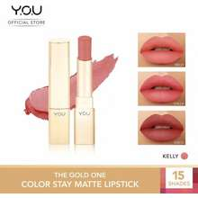 Y.O.U The Gold One Color Stay Matte Lipstick