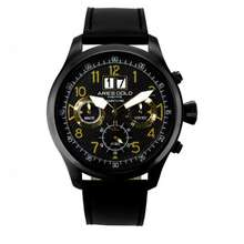 Aries Gold G750-BK-GD MALE WATCH LEATHER STRAP 100% ORIGINAL