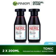 Garnier BELI 2 LEBIH HEMAT! Neril Tonic Anti Dandruff Twinpack 200 mL Hair Care - [ UNTUK RAMBUT BEBAS KETOMBE ]