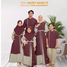 Nibra's Gamis Sarimbit Nibras Terbaru Baju Couple Muslim Lebaran 2021Halley Khaki