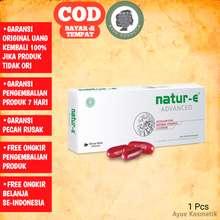 Natur-E Natur-E Advanced 32s Natur -E Advanced 32 Kapsul Lunak Astaxanthin Natural Vitamin E Lycopene NATURE NATUR-E Natural Vitamin E Isi 32 Kapsul - Suplemen Vitamin E Merawat Kesehatan Kulit dan Tubuh nature e 32 kapsul A04