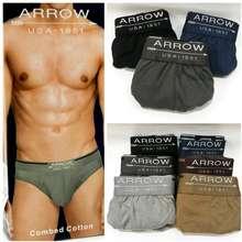 Arrow 3Pcs Celana Dalam Cd Pria Usa 1851