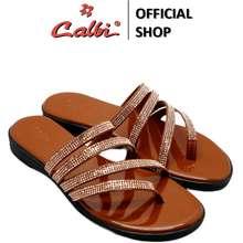 Calbi Sandal Tali Wanita - Kax 296 (Warna: Coklat, Hitam)