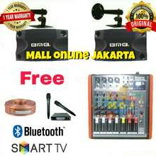 BMB Paket Karaoke 10 Inch Power Mixer Betavo Bluetooth Sound System