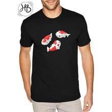ikan Hooneybee Ready Fish Tshirt Kaos Koi Tshirt Kaos Lucu Custom L Putih