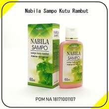 Nabila 2 Botol Shampo Anti Kutu dan Penyubur Rambut