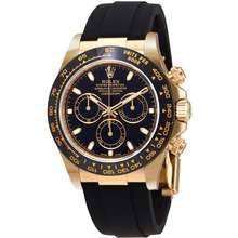 Rolex Cosmograph Daytona Automatic 18K Yellow Gold Mens Watch 116518LN