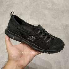 Skechers Sepatu Diskon Active Gratis Sweetlace Black Women Original