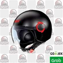 Nolan HELM GREX G3.1 COUPLE FLAT BLACK RED (Large)