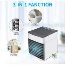 3in1 Usb Portable Mini Air Conditioner Cool Cooling Kipas Angin Ac Humidifier Air Purifier