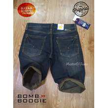 Bombboogie Celana Pendek Jeans Pria - Celana Pendek Jeans - Celana Pendek Denim Exclusive - Celana Pendek Import Quality