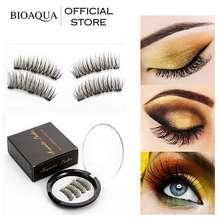 Bioaqua Official 3D Magnetic Eyelashes Professional Magnetic Lashes Magnetic False Eyelashes Magnetic Eye Lashes