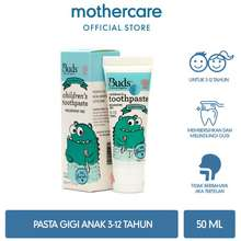 Mothercare Buds Organics Toothpaste Fluoride - Peppermint (3-12 Years)