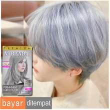 Miranda Semir rambut paling bagus murah ampuh Pewarna rambut yang bagus permanen abu abu Cat rambut permanen warna blonde Hair Color Premium Ash Blonde Abu Abu MC-16