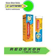 Redoxon TRIPLE ACTION EFFERVESCENT 10 TABLET / VITAMIN C D DAN ZINC / 1 TUBE 10 TABLET / Citta_Vitamin / READY STOCK !!!