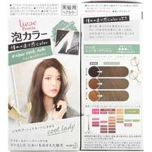Kao Japan liese Prettia Bubble Foaming Hair Color Kit - Foreigner Color Series