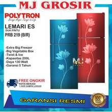 Polytron KULKAS POLYTRON PRB 219 LEMARI ES 2 PINTU PRB219 PRB 219