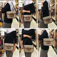 Gucci Horsebit Shoulder Bag With Box Semi Premium Authentic Aaa 602204 (Besar)