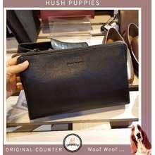 Hush Puppies Naylor Clutch Bag Tas Pria Original Counter Kulit Asli Genuine Leather