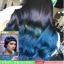 Miranda Pewarna Rambut Yang Bagus Pria Wanita Aman Hair Color Premium Blue MC-2 Rambut Semir Rambut Yang Bagus Permanen Korea Cat Rambut Smooting Bleaching Rambut Nyu Matrix Cultusia Makarizo Yang Bagus Obat Penutup Uban