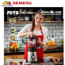 Mitochiba MITO FOOD PROCESSOR BLENDER OMNI BLADE BL-100