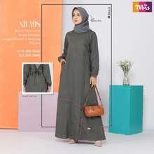 Nibra's Baju Gamis Dress Wanita Muslim Nibras Terbaru Nb A98