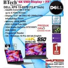 DELL DELL XPS 15 9570 Intel Core i7-8750H/16GB/512GB SSD/VGA GTX/Win10Pro