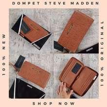Steve Madden Zip Around Wallet Original