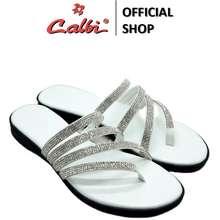 Calbi Sandal Tali Wanita - Kax 296 (Warna: Putih, Merah Muda)