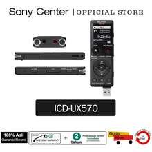 Sony Icd-Ux570F Perekam Suara Digital Seri Ux / Voice Recorder Icd Ux570F