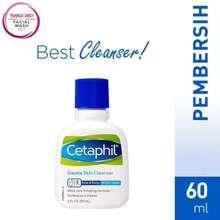 Cetaphil Gentle Skin Cleanser 60 ml (isi bersih 59 ml)