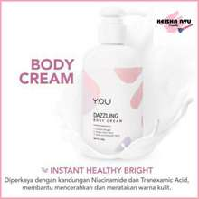 you Dazzling Body Cream Hand Body Pemutih
