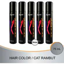 X-Pert Xpert Hair Color Spray / Cat Rambut Spray / Pewarna Rambut Spray 75Ml