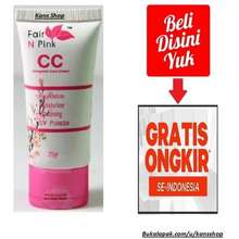 fair n pink Cc Cream Fairnpink Fairn Pink Fair Npink C C Cream Complete Care Bedak Krim Pelembab Pemutih Wajah Pelindung Sinar Uv