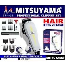 Mitsuyama Alat Cukur Rambut Elektrik MS-5023 Hair Clipper Cukuran Rambut MS-5023 Mesin Cukur Rambut Listrik MS-5023 COD Bayar Ditempat