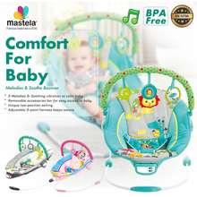 Mastela Bouncer Comfort Cradling 3 Recline - Cream - Giraffe - 6418