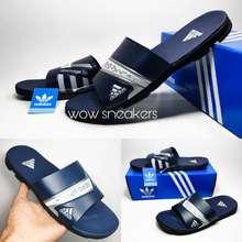 adidas Sandal pria adidas nitrocharge 3.0 - sendal adidas nitrocarge nyaman - Navy Blue, 41