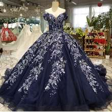off shoulder sweetheart natural waist embroidery designs plus size women clothing royal bridal dress
