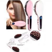 Sisir Elektrik Jizzy Shop - Sisir Fast Hair Straightener Catok Sisir Pelurus Rambut HQT-906 - Sisir Catokan Rambut - Sisir Electrik Pelurus Rambut - Sisir Catok