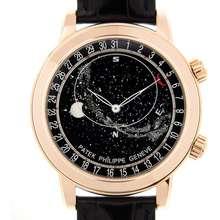 Patek Philippe Grand Complications Black Dial Mens Watch 6102R 001