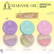 Crystal Madame Gie Loose Powder - Makeup Bedak Tabur