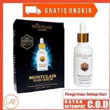 Montclair Hair Serum - Obat Penumbuh Vitamin Rambut Bergaransi Hasil Riset Jerman Mengatasi Rontok Uban Botak Pria Wanita