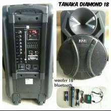 Tanaka SPEAKER AKTIF 18 inch portable DIAMOND 18 Original